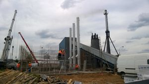 Industrieschornstein FSA für Dampfkessel