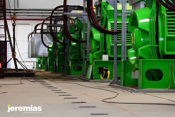 jenbacher ГПУ энергоцентр газопоршневые установки